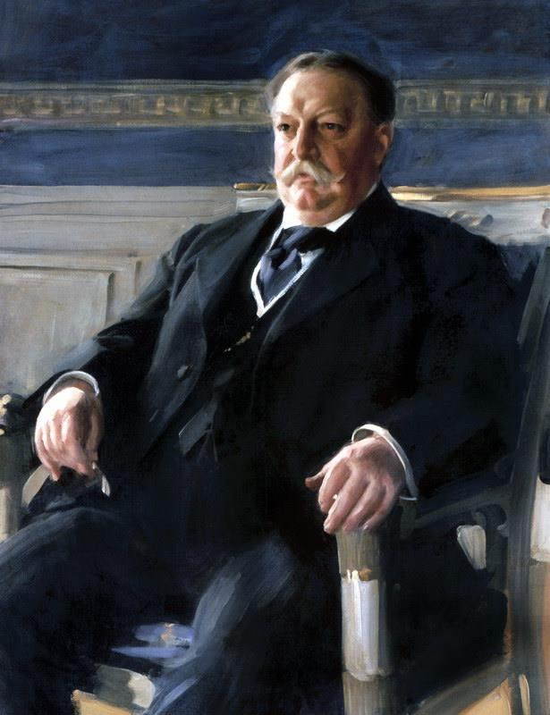 Retrato presidencial oficial de William Howard Taft