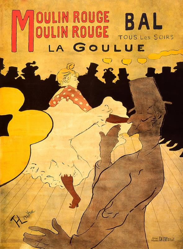 Lautrec-Moulin Rouge-La Goulue