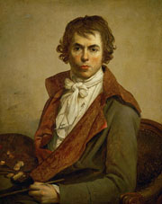Autorretrato Jacques Louis David